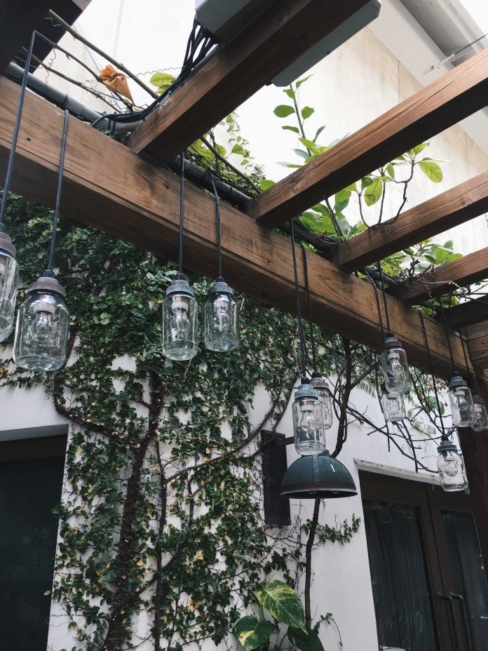 Pretty vines all over the walls
