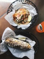 Tacos, Elote, Jarritos