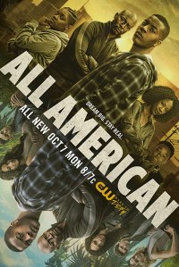 Image of the poster of the show All American.