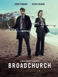 Image of the poster of the show Broadchurch.