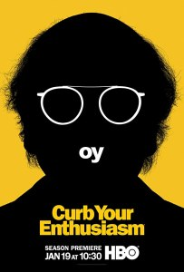 Image of the poster for the show Curb Your Enthusiasm.