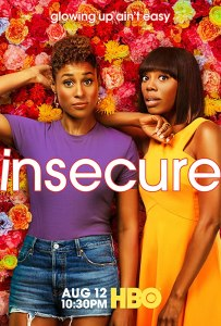 Image of the poster for the show Insecure.