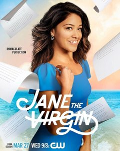 Image of the poster for the show Jane the Virgin.