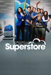 Image of the poster for the show Superstore.