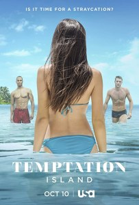Image of a poster of the show Temptation Island.