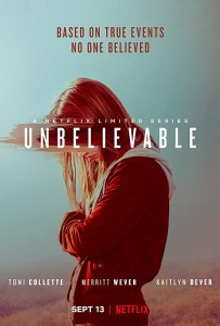 Image of the poster for the show Unbelievable.